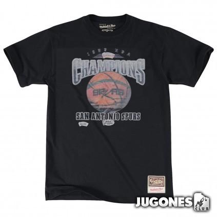 San Antonio Spurs 1999 Champions Mitchell & Ness NBA T-Shirt