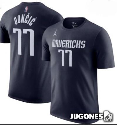Camiseta Statement Dallas Mavericks Luka Doncic Jr