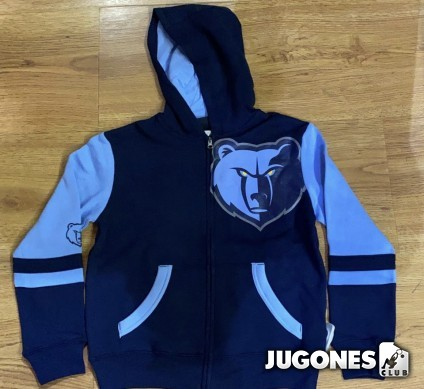 Full Zip Memphis Grizzlies Jr