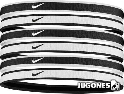 6pk Nike Tipped Hairbands