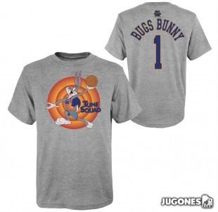 Bugs Bunny Space Jam Tune Squad Short Sleeve Kids T-Shirt