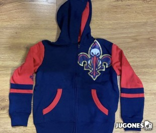 Full Zip New Orleans Pelicans Jr