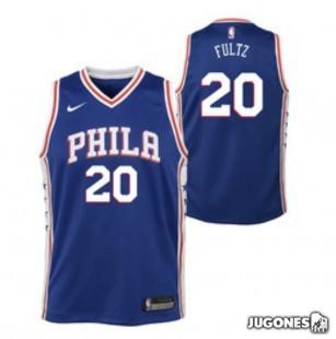 Big Kids` NBA 76ERS Fultz Jersey