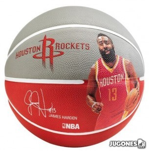 Spalding NBA player James Harden ball size 7