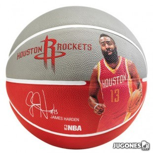 Spalding NBA player James Harden size 5