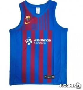 FC Barcelona Basket Jersey jr