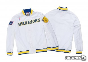 1996-97 Authentic Warm Up Golden State Warriors Jacket