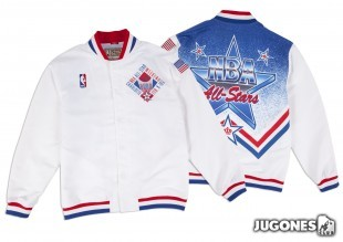 1990-91 Authentic Warm Up All Star Jacket