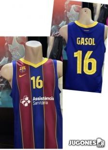Pau Gasol FC Barcelona tee
