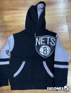 Full Zip Brooklyn Nets Jr