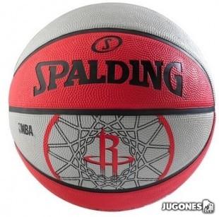 Spalding team balls Houston Rockets Size 7