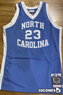NCAA North Carolina Michael Jordan Authentic Jersey