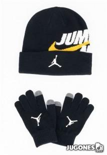 Jumpman by Nike Beanie Set