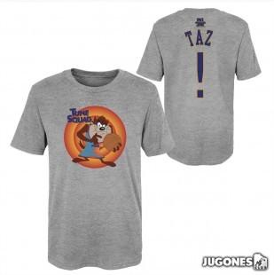 Taz Space Jam Tune Squad Short Sleeve T-Shirt