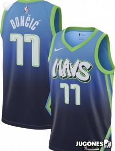 City Edition Luka Doncic Dallas Mavericks