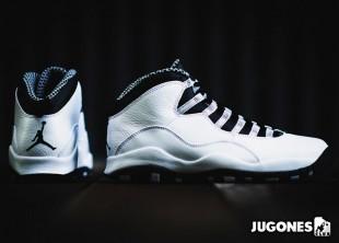 Nike Air Jordan 10 `Steel` GS