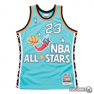 Authentic All Star East 1996 Michael Jordan