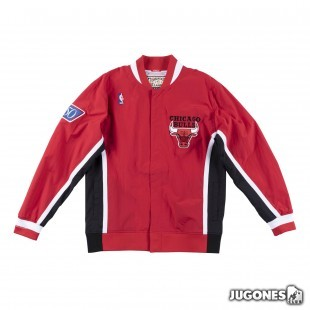 Authentic Warm Up Jacket Chicago Bulls 1996-97