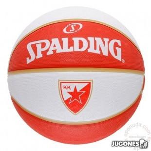 Spalding team balls Belgrado. Size 7