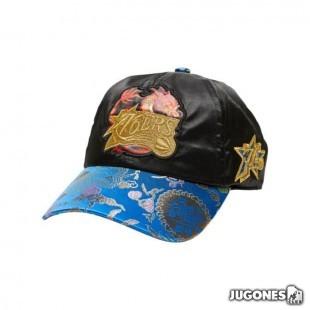 Philadelphia 76ers NEW DAWN DAD MEN BLACK HAT HWC STRAPBACK
