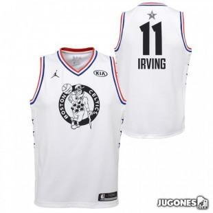 All Star Kyrie Irving White Jr T-Shirt