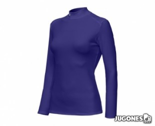Camiseta T?rmica Under Armour M/L-Mujer