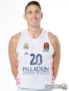 Camiseta Real Madrid 2020/2021 Jr Jaycee Carroll