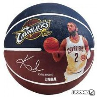 Spalding NBA Player Kyrie Irving Ball Size 7