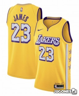 City Edition Ángeles Lakers Lebron James Jr