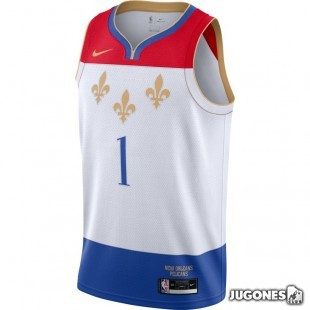New Orleans Pelicans City Edition Zion Williamson