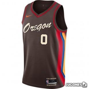 Portland Trail Blazers City Edition Damian Lillard