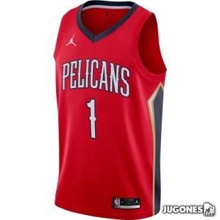 New Orleans Pelicans Zion Williamson Statement Edition 2020