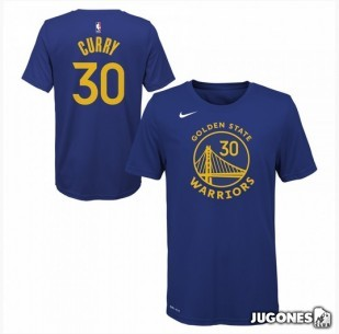 Camiseta Stephen Curry Golden State Warriors Jr