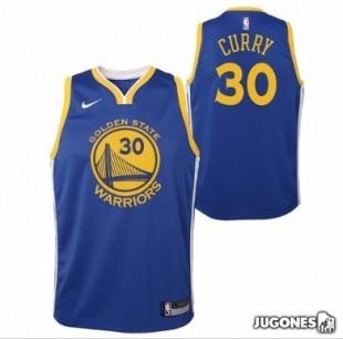 Big Kids Curry NBA Jersey