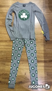 Tee & Pant Sleep Boston Celtics