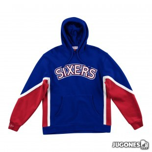 Final Seconds Fleece Hoody Philadelphia 76ers