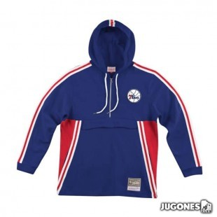 French Terry Anorak Philadelphia 76ers