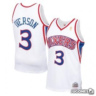 Philadelphia 76Ers Allen Iverson Jr 1996-97