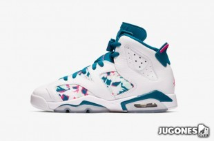 Jordan 6 Retro GS Green Abyss