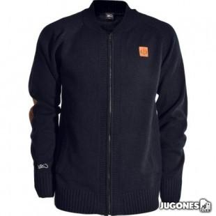 K1X Crest Knit College Jacket