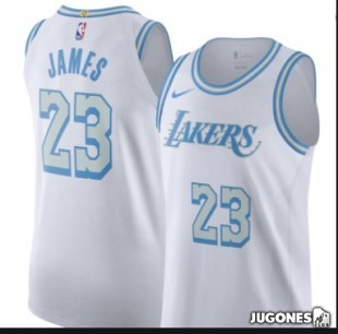 Lebron James Angeles LAkers City Edition