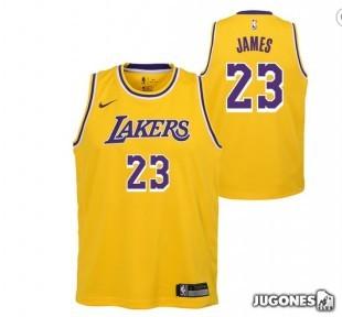NBA Lakers Lebron James T-Shirt JR