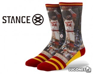 Stance Hakeem Olajuwon socks