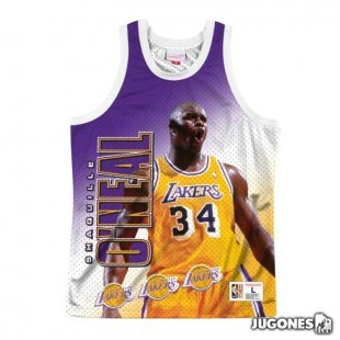 Behind the Back Los Angeles Lakers Shaquille O`Neal