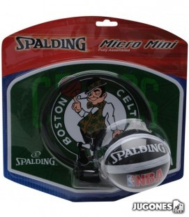 Spalding Boston Celtics mini basket