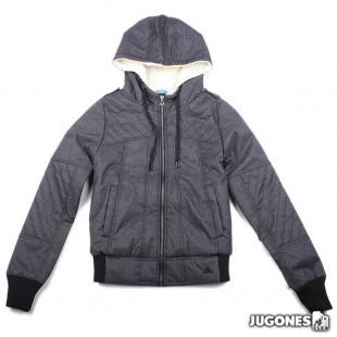 Adidas Canvas Jacket Hoodie
