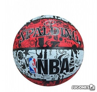 Spalding Grafitti NBA Ball