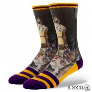 James Worthy Stance Socks