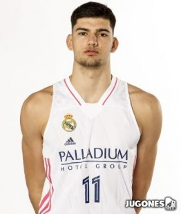 Real Madrid 2020/2021 Jr Tristan Vukcevic