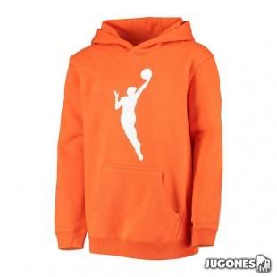 WNBA Logo Fleece hoodie